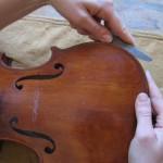 Reparaturen von Instrumenten und Bögen