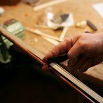 violin bow rehairing