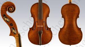 Geige Markneukirchen 1900