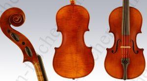 Violine aus der Geigenbauschule Mittenwald 1942
