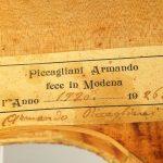 Armando Piccaliani violin