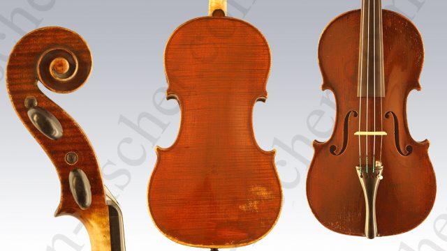 Schwartz Frères Violine Strasbourg 1841