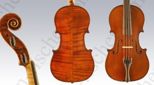 German Violin by Julius Vahlefeld (1922)