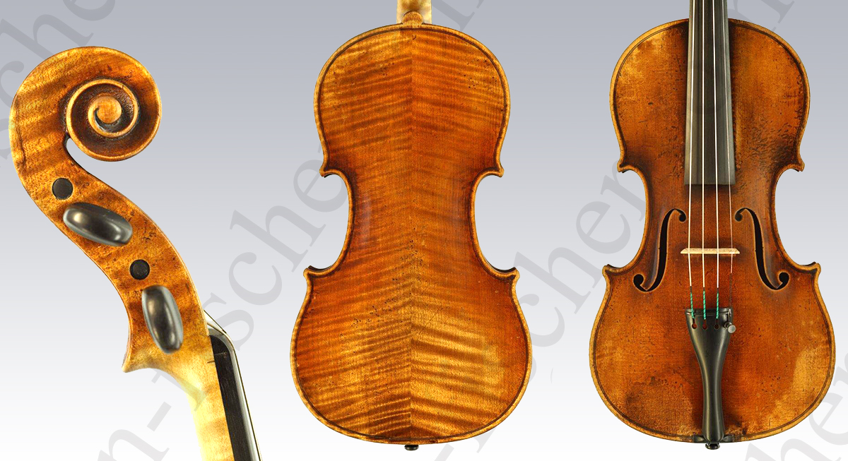 German Violin Holm Viertel